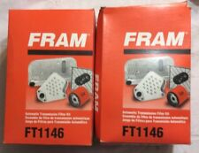 (2) Fram FT1146A Transmission Filter Kit - FREE SHIPPING!     1216MN6