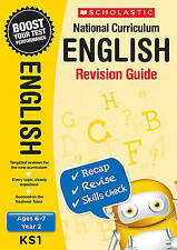 NEW Scholastic ENGLISH 6-7 (year 2) KS2 NATIONAL CURRICULUM REVISION GUIDE SATS