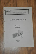 GEC Model 12501 (4019G)  Stereo Music Centre Genuine Service Manual