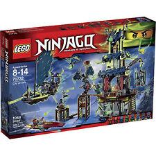 LEGO City of Stiix Ninjago Set 70732 w Temple, Ghost Ship, 8 Minifigures NEW