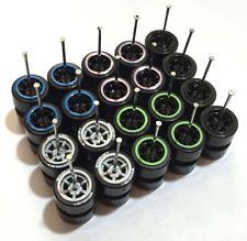 1:64 tires rims Comold mix - fit Hot Wheels MBX Civic diecast - Lot of 10 - 008