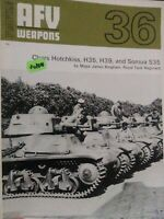 AFV Weapons Profile 36/1971 chars Hotchkiss, H35, H39, and SOMUA S35 + Fi