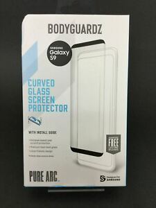 BodyGuardz Pure Arc Tempered Glass Screen Protector for Samsung Galaxy S9