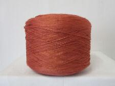 "Wolle Kone 1,45Kg 8,33€/Kg""rosenholz""Baumwoll-Poly.Flammengarn-Handarbeit"