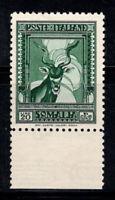 Somalia 1932 Sass. 183 Nuovo ** 100% Serie Pittorica, 20 Lire