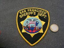 PATCH POLICE ECUSSON COLLECTION  USA   police  san francisco