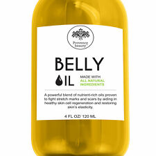 Provence Beauty BELLY OIL - Stretch Mark, Scar Prevention & Reduction Therapy