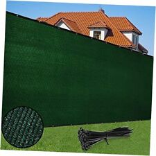 Privacy Screen Fence 6' x 50' Heavy Duty Garden Windscreen 90% 6x50ft Green