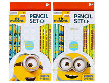 Minions  Pencil  8 Pcs Set School Supplies Kids Gifts Stationery Random