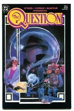 The Question #1 1st issue-DC comic book 1986 - VF/NM