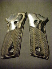 Taurus PT 92 99 Blackwood Fancy Checkered Pistol Grips w/Decock ONLY! NEW DESIGN