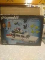 PLAYMOBIL GHOSTBUSTERS 9220 PLAY SET 79 PC SEALED BOX B-2