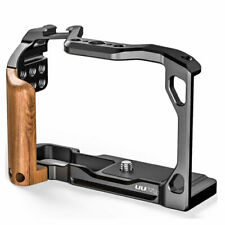 Wood Handle Alloy Housing Cage for Panasonic G100 Camera Protective Frame C-G100