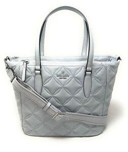 Kate Spade Jae Medium Satchel Nylon handbag Quilted Moonlight WKR7031 $289