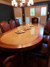 Walnut and Alder Formal Dining Set - Seats 12