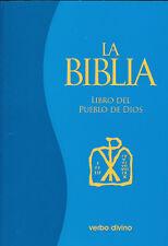 La Biblia Libro Pueblo de Dios - Catolica-  Pasta Delgada Rustica - Verbo Divino