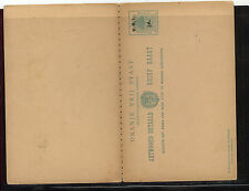 Orange Free State postal reply card overprinted unused       KL1001