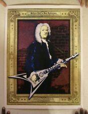 Jethro Tull Poster Numbered Silkscreen