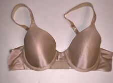 Hanes We Have Your Back Lift Bra 34A Beige Underwire