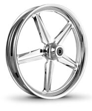 "DNA ""ICON"" CHROME FORGED BILLET 30""X 4"" FRONT WHEEL HARLEY CUSTOM"