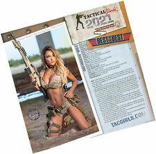 Tactical Girls 2021 Gun Calendar - 3 Pack With S&h USMC Soldier Gift