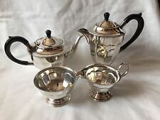 VINTAGE EPNS Placcato Argento Caffè/Tè Set SHEFFIELD Made in England