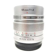 7artisans 55mm f/1.4 Manual Focus Lens for Fujifilm Fuji X Series Cameras