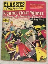 Classics Illustrated No. 24: A Connecticut Yankee in King Arthur's Court (1945)