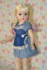 "Gorgeous! Vintage 17"" R&B Nancy Lee/Nanette Hard Plastic Doll All Original"