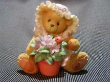 Cherished Teddies * Violet * Blessings Bloom When You Are Near