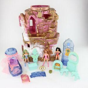 RARE Original She-Ra Princess of Power POP Figure Vtg Playset CRYSTAL CASTLE