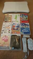 Nintendo wii games + accessories bundle. Board fit controller Goldeneye Mario