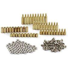 Zyamy 150pcs M3 Hex Brass Spacer Standoff Circuit Pcb Board Nut Screws Kit Set