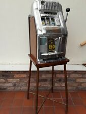 Tubular Steel One Arm Armed Bandit Slot Machine Display Stand ONLY