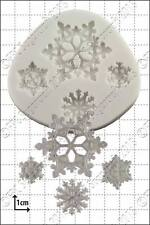 Stampo in silicone fiocchi di neve | uso alimentare FPC Sugarcraft spedizione gratuita in UK!