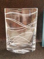 "Nambe MOTUS Pocket Vase 9 1/2"" A+ CONDITION MINT IN BOX"