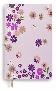 Kate Spade New York Purple/Blush Floral Bookcloth Journal with 168 Lined Page...
