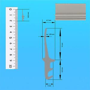 Dachfensterdichtung Ersatzdichtung z.B. für Braas Velux Fenster einsetzbar ab 1m