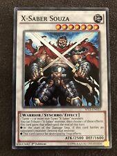 X-Saber Souza Yugioh Card Genuine Yu-Gi-Oh Trading Card