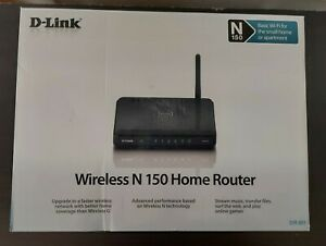 NEW D-Link N150 Home 150 Mbps 4-Port 10/100 Wireless N Router (DIR-601)