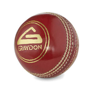 Graydon Match Quality  Cricket Ball- Stroke Special- Senior 5.5oz