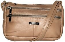 Fawn Lorenz Leather Small Multi Zip Bag