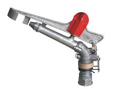 "2"" Adjustable Impact Sprinkler Gun Large Area Water Irrigation Spray Tool"