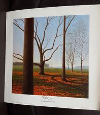 Arthur A. Kaplin Lithograph Fall Grove by Thomas Locker  JJ 1011