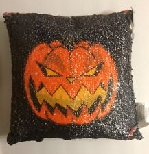 Nightmare Before Christmas 25th Walgreens Pumpkin King/Jack Flip Sequins Pillow