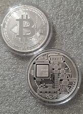 2018 Bitcoin Proof 1 oz .999 fine Solid silver commemorative AOCS limited 2500