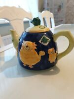 Rayware Cat And Mouse Tea Pot decorative 3D character