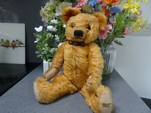Early/Vintage Merrythought Teddy Bear