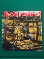 Iron Maiden Piece Of Mind Vinyl LP Dated 1983