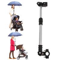 Adjustable Baby Buggy Pram Stroller Umbrella Holder Wheelchair Stretch Stand